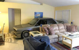 He parked his E30 M3 in living room to ditch the Matthew