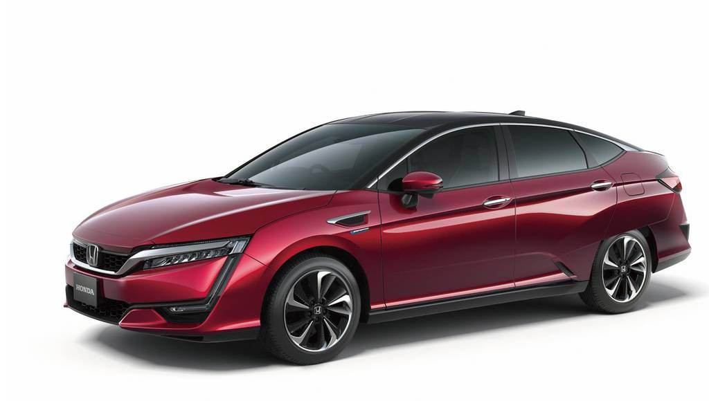 Honda Clarity Fuel Cell range announced