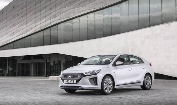 Hyundai Ioniq Hybrid UK pricing announced