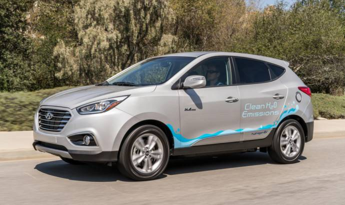Hyundai Tucson Fuel-Cell achieve historic miles traveled