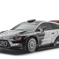 Hyundai unveiled its 2017 i20 WRC racecar