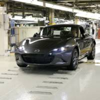 Mazda MX-5 enters production in Japan