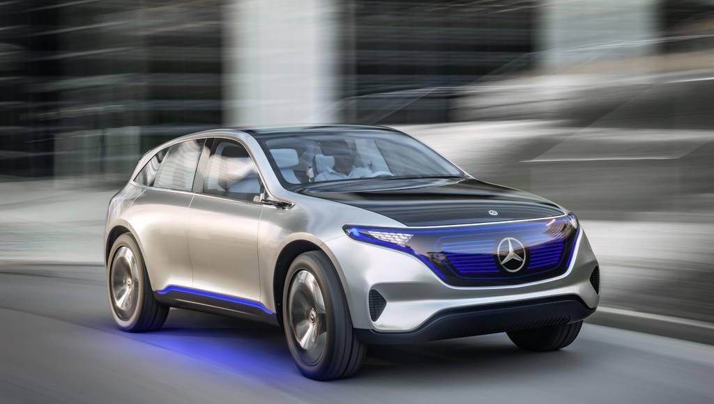 Mercedes Benz Generation EQ concept makes world debut
