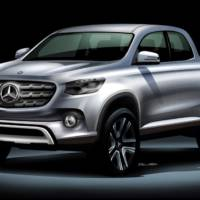 Mercedes-Benz pick-up truck will be detailed this month
