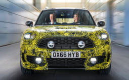 Mini Countryman Hybrid teased ahead of its debut