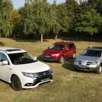 Mitsubishi Outlander reaches 15 years since birth