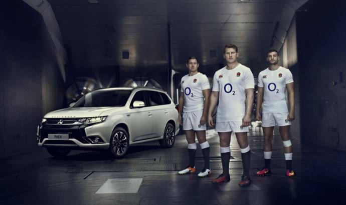Mitsubishi UK supports the England Rugby team