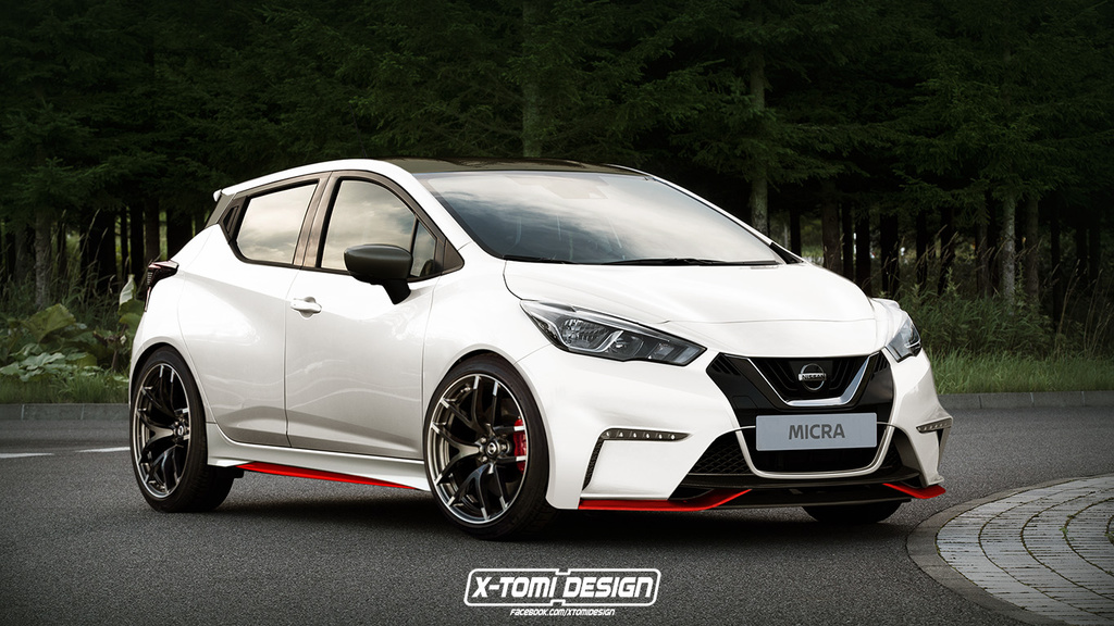 Nissan Micra imagined in Nismo clothes