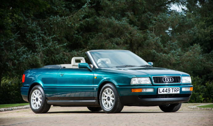 Princess Diana's 1994 Audi Cabriolet is up for sale