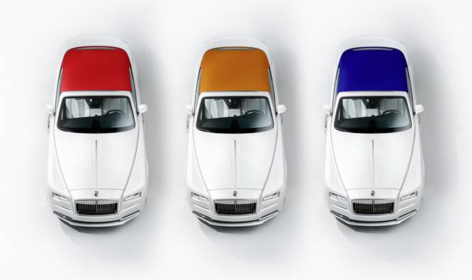 Rolls Royce Dawn inspired by fashion makes an appearance