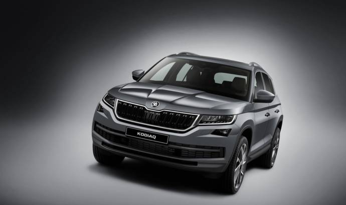 Skoda Kodiaq priced in UK