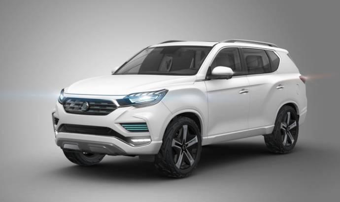 Ssangyong LIV-2 Concept unveiled in Paris