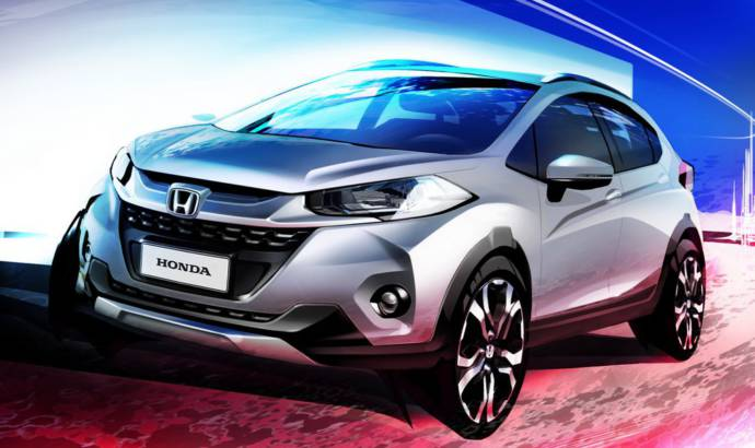This is the new Honda WR-V, the Juke-minator