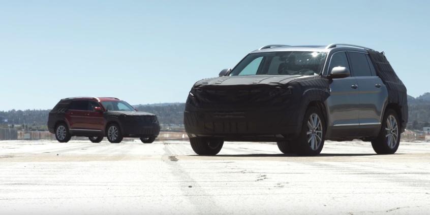 Volkswagen Atlas SUV - Video teaser