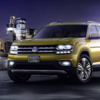 Volkswagen Atlas official pictures and details