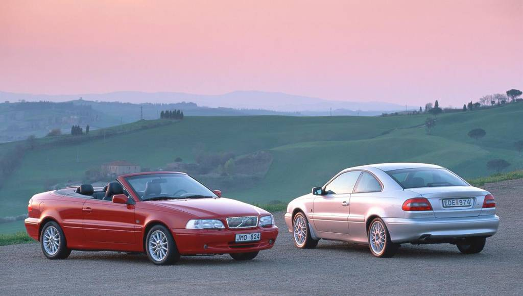 Volvo celebrates 20 years since the launch of the C70