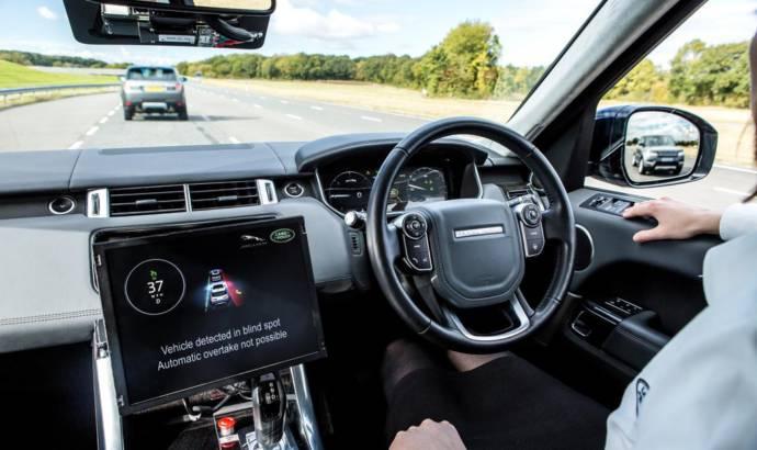 Jaguar and Land Rover announce new autonomous technology