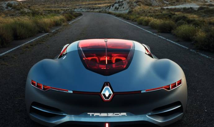 Renault Trezor Concept detailed