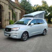 SsangYong Turismo Tourist Camper - Official pictures and details