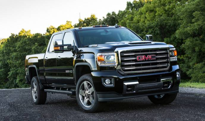 The 2017 GMC Sierra HD All Terrain X is now available with the new Duramax diesel engine