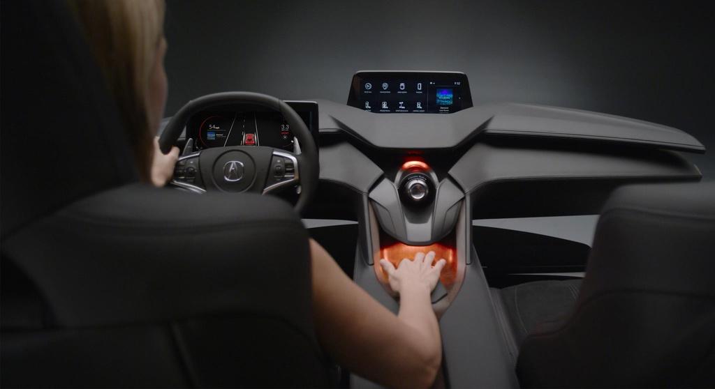 2017 Acura Precision Cockpit showed in Los Angeles