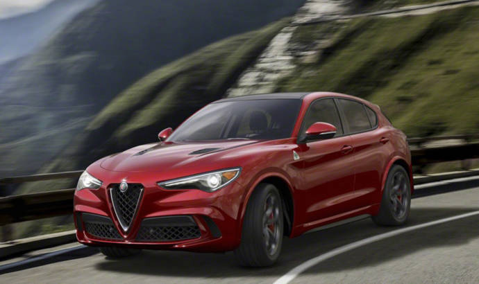 2017 Alfa Romeo Stelvio - Official pictures and details