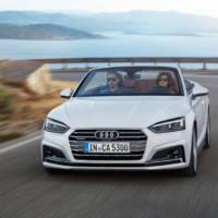 2017 Audi A5 Cabriolet unveiled