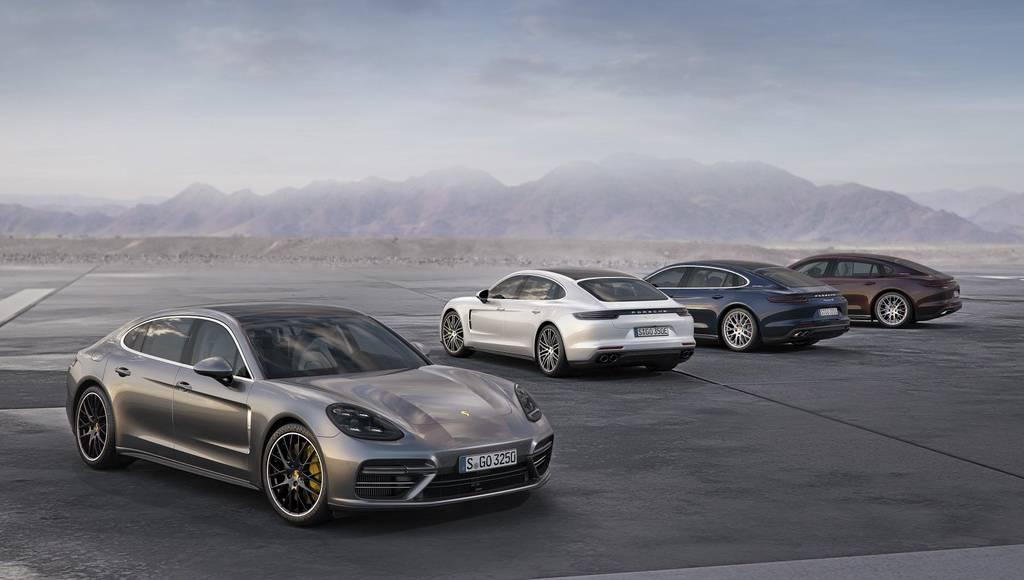 2017 Porsche Panamera receives new V6 engine