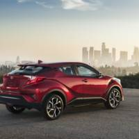2017 Toyota CH-R US trim levels detailed