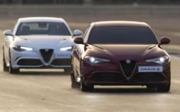 Alfa Romeo Giulia sets world record on Silverstone