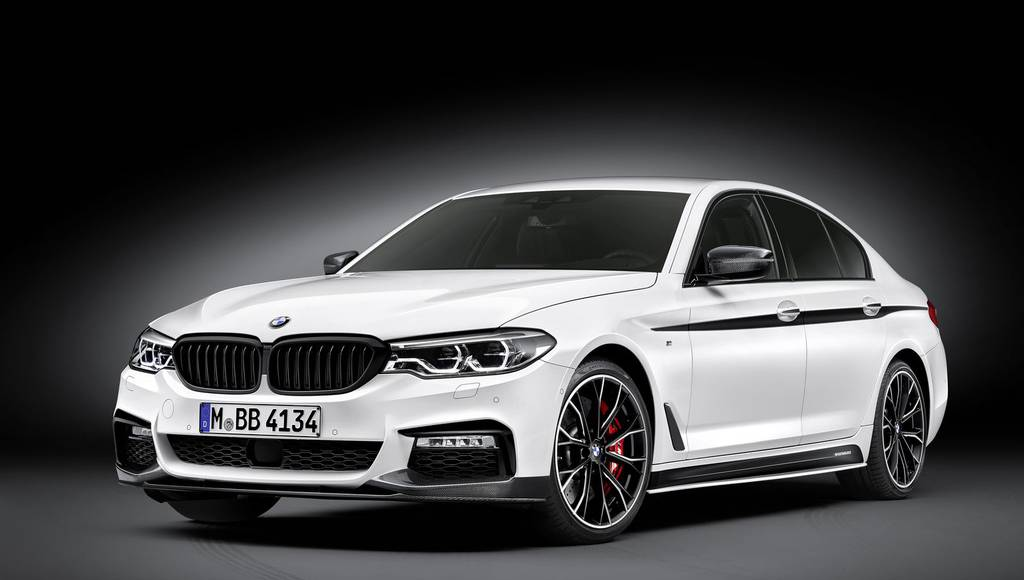 BMW 5 Series receives M Performance package