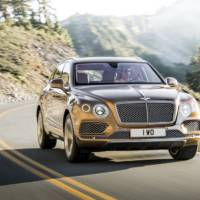 Bentley Bentayga - First recall in the US