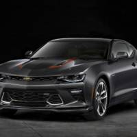 Chevrolet Camaro 50th Anniversary Edition detailed