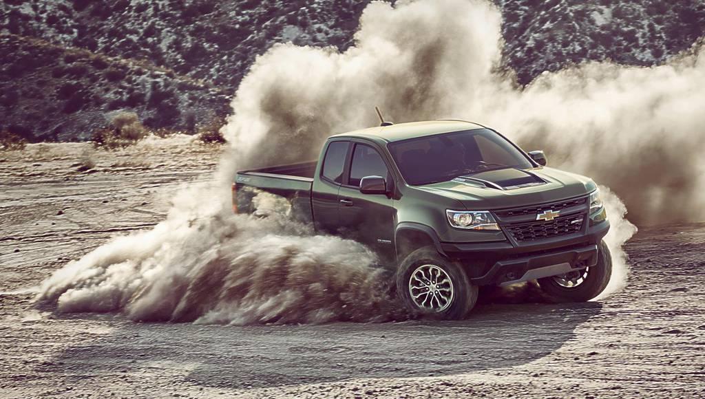 Chevrolet Colorado ZR2 pick-up introduced in LA