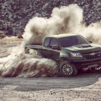 Chevrolet Colorado ZR2 pick-up introduced in LA