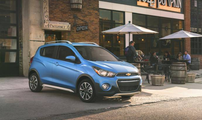 Chevrolet Spark Active launched in the US