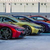 Colorful BMW i8s - Feel the rainbow, taste the rainbow
