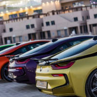 Colorful BMW i8s - Feel the rainbow, taste the rainbow