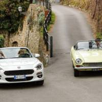 Fiat 124 Spider celebrates its 50 years anniversary