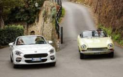 Fiat 124 Spider celebrates its 50 years anniversary