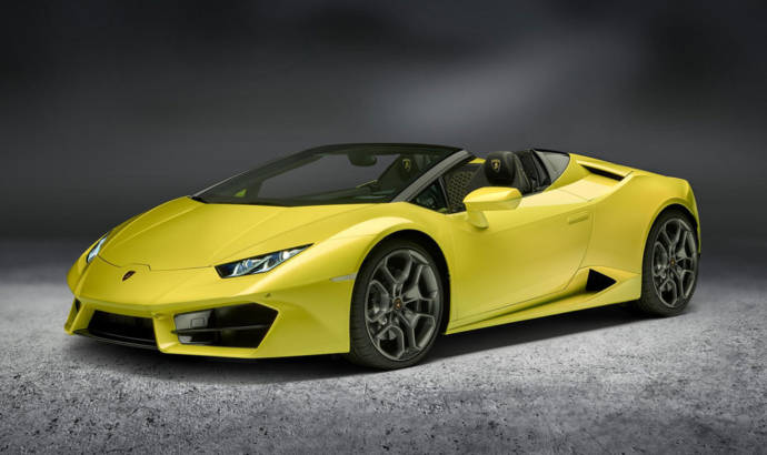 Lamborghini RWD Spyder unveiled in Los Angeles