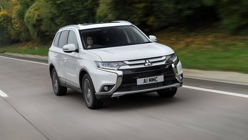 Mitsubishi Outlander Diesel gets updated in the UK