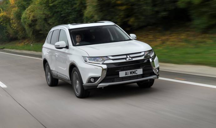 Mitsubishi Outlander Diesel gets updated in the UK