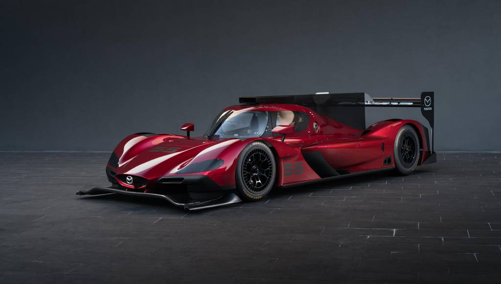 New Mazda RT24-P is ready for some action