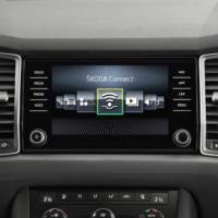 New Skoda Kodiaq also introduces Skoda Connect
