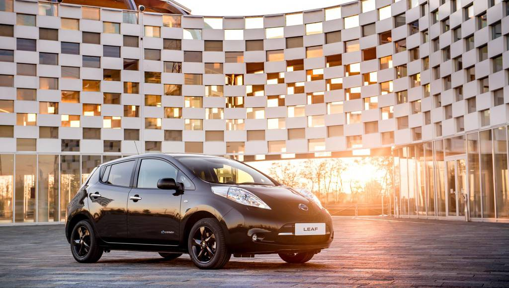 Nissan Leaf Black edition launched in UK