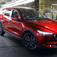 Production of all-new 2017 Mazda CX-5 begins