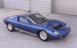 Rod Stewart Lamborghini Miura sold at an auction