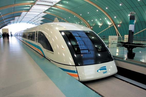 The mighty Maglev train will get a 370 mph version in 2020