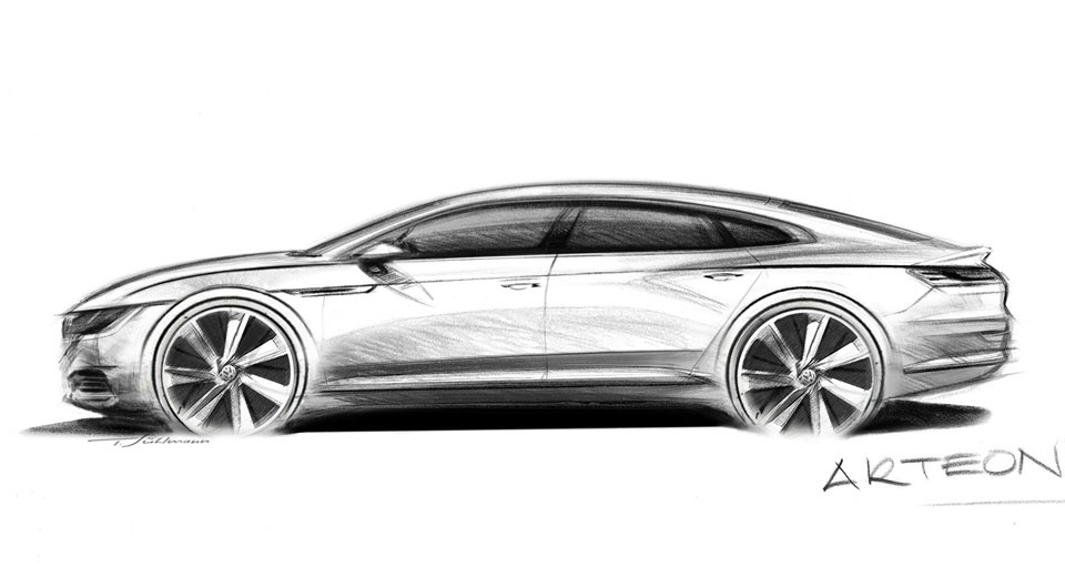Volkswagen Arteon is the replacement for CC